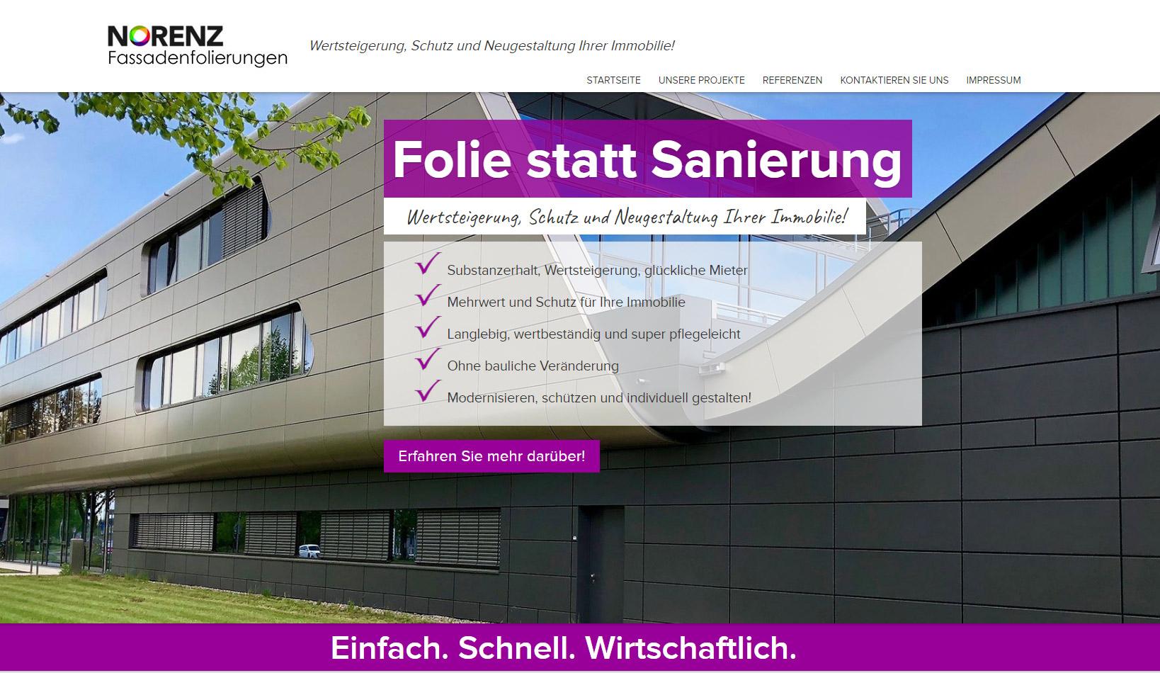 Eine professionelle Unternehmensseite | SITEWAYS.DE